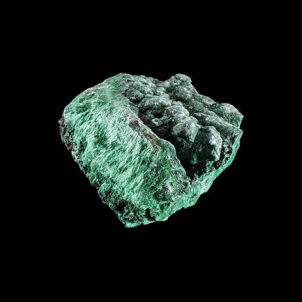 Carbonate Photograph - Malachite by Science Photo Library