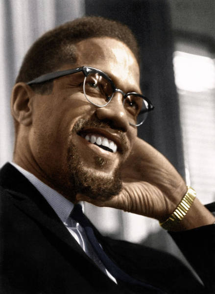 Wall Art - Photograph - Malcolm X (1925-1965) by Granger