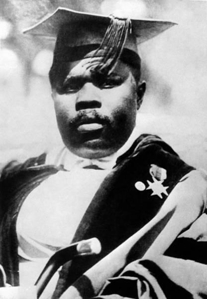 Wall Art - Photograph - Marcus Garvey (1887-1940) by Granger