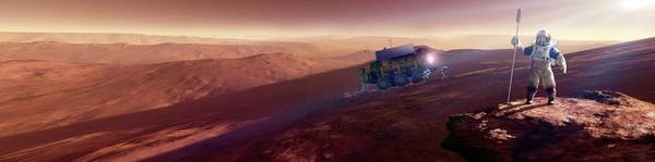 Wall Art - Photograph - Mars Exploration by Detlev Van Ravenswaay