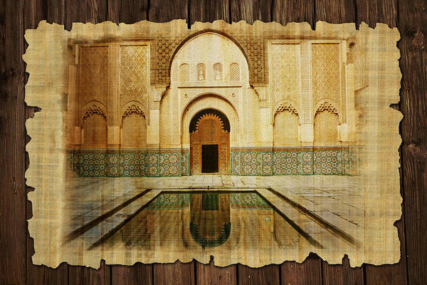 Medina Wall Art - Painting - Medina Of Marakkesh by Catf