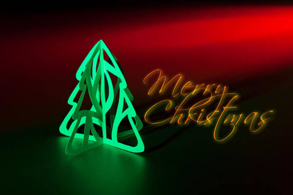 Photograph - Merry Christmas by U Schade