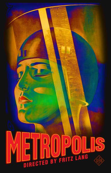 Metropolis Digital Art - Metropolis by Gary Grayson