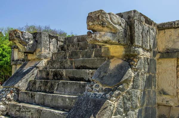 Chichen Itza Photograph - Mexico, Yucatan, Chichen Itza by Jerry Ginsberg