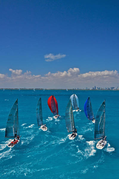 Photograph - Miami Skyline by Steven Lapkin