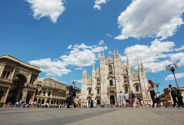 Welsh Church Photograph - Milan, Italy. The Duomo, Or Cathedral by Ken Welsh