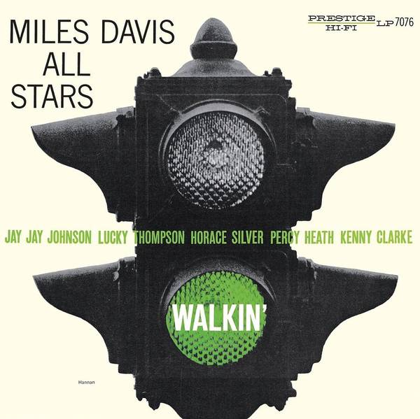 Wall Art - Digital Art - Miles Davis All Stars -  Walkin' by Concord Music Group