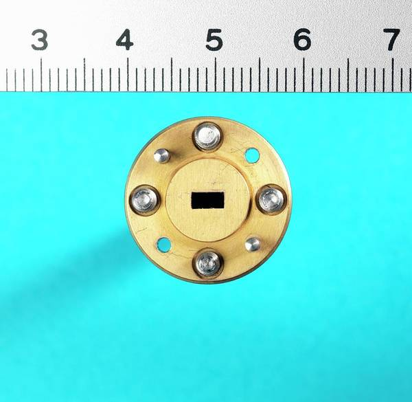Wavelength Photograph - Millimetre Radio Waveguide by Andrew Brookes, National Physical Laboratory