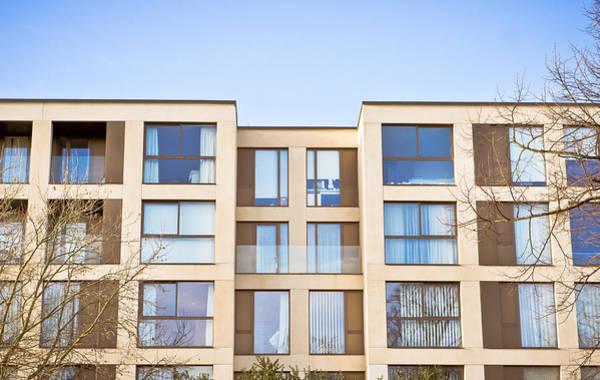 Multi-storey Wall Art - Photograph - Modern Apartments by Tom Gowanlock