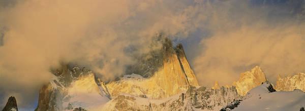 Wall Art - Photograph - Mount Fitz Roy Seen From Laguna De Los by Martin Zwick