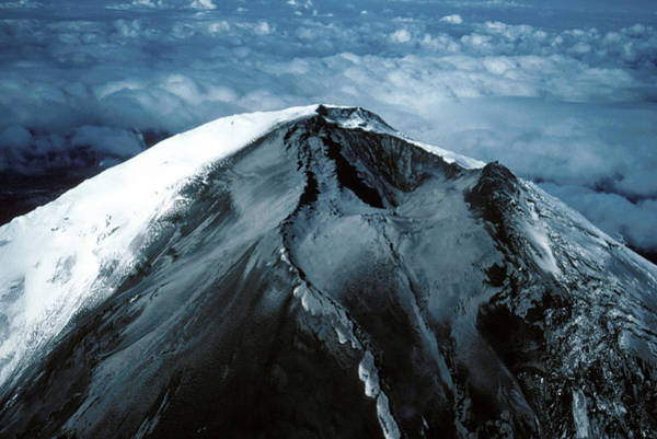 Wall Art - Photograph - Mount St Helens by Us Geological Survey/science Photo Library