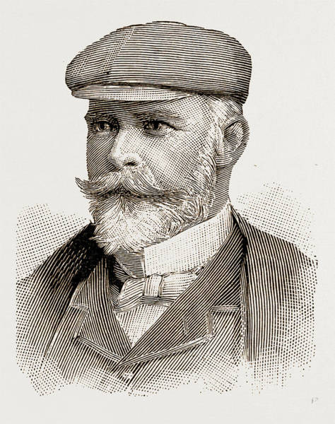 Douglas Drawing - Mr. Elliott Lees by Litz Collection