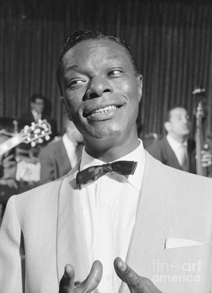 Vocalist Photograph - Nat King Cole 1954 by The Harrington Collection
