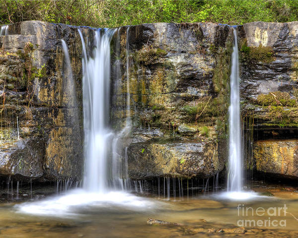 Fayetteville Photograph - Natural Dam Falls by Twenty Two North Photography