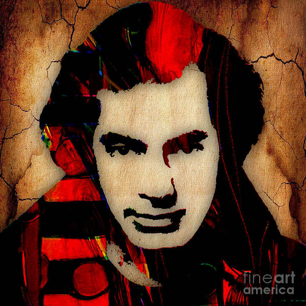Wall Art - Mixed Media - Neil Diamond Collection by Marvin Blaine