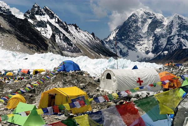 Wall Art - Photograph - Nepal, Mount Everest by David Noyes