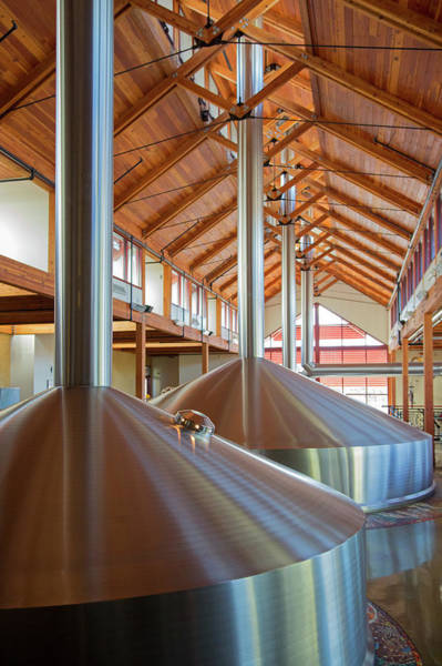 Brewing Photograph - New Belgium Brewery by Jim West
