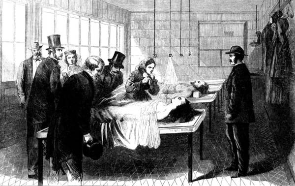 Photograph - New York City Morgue, Bellevue by Science Source