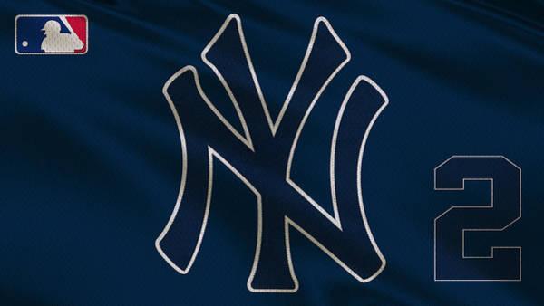 Yankee Photograph - New York Yankees Derek Jeter by Joe Hamilton