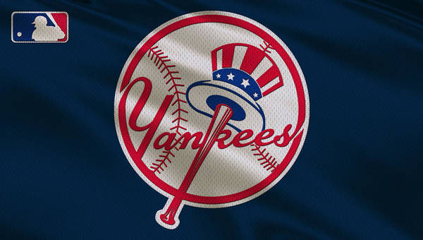 Outfield Wall Art - Photograph - New York Yankees Uniform by Joe Hamilton