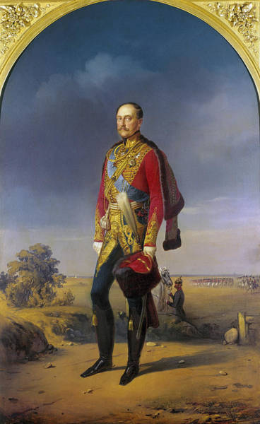 Painting - Nicholas I (1796-1855) by Granger