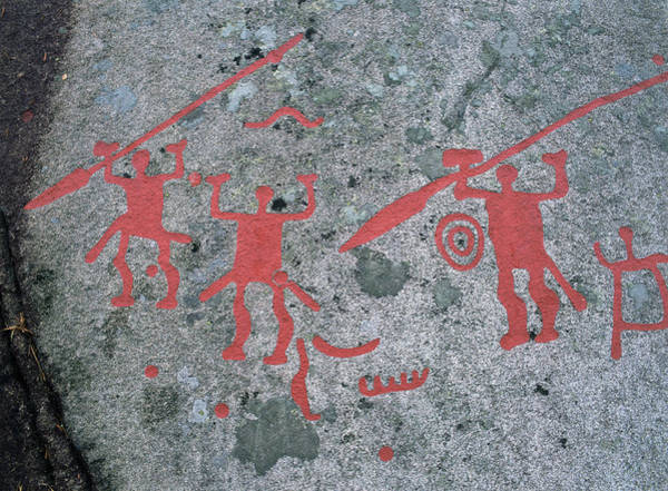 Petroglyph Photograph - Nordic Bronze Age Petroglyph by Bjorn Svensson/science Photo Library