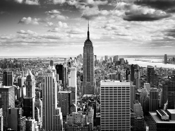 Monochrome Photograph - Nyc Downtown by Nina Papiorek