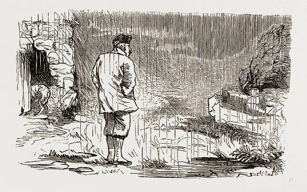 Wet Drawing - Off To The Moors, Uk 1873 by Litz Collection
