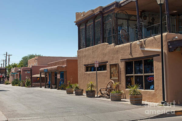 Photograph - Old Town Albuquerque by Fred Stearns