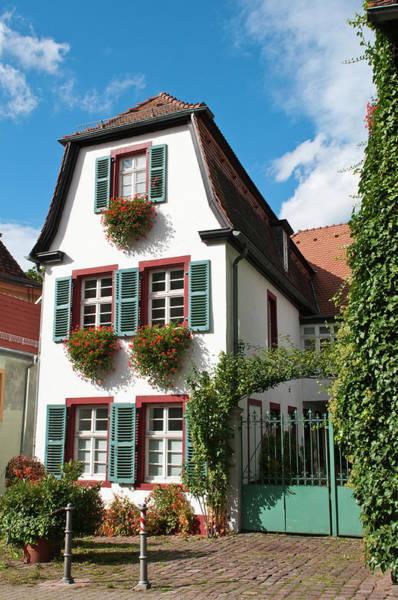 Window Box Photograph - Old Town Heidelberg, Germany by Michael Defreitas