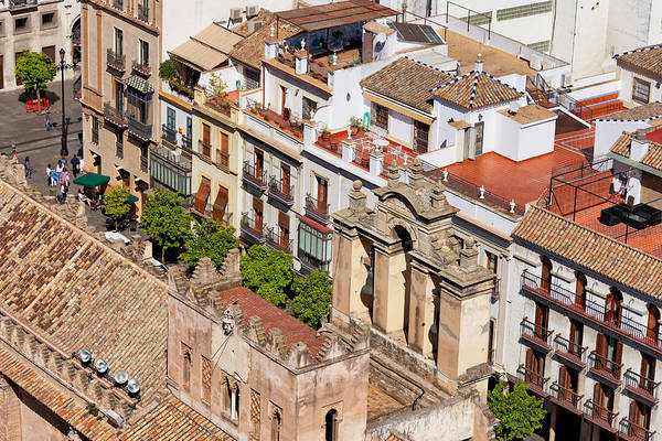 Tenement Photograph - Old Town Of Seville In Spain by Artur Bogacki