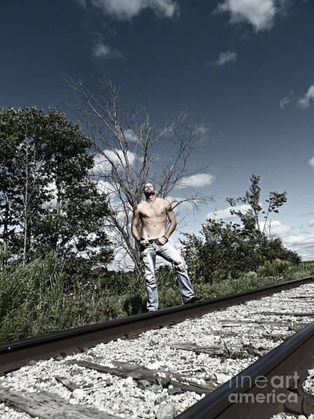 Photograph - On The Road by Cyryn Fyrcyd