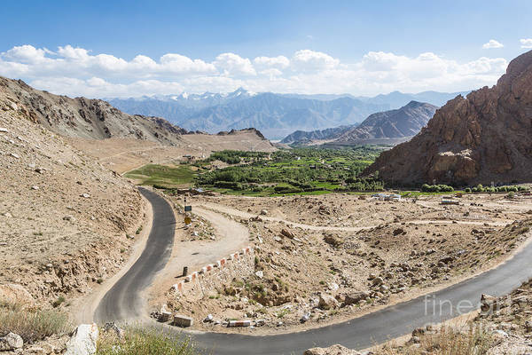 Photograph - On The Road In Ladakh by Didier Marti