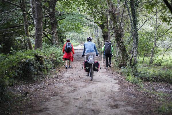 Galicia Photograph - 3 On The Way by Ivan Blanco Vilar