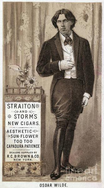 Photograph - Oscar Wilde by Granger
