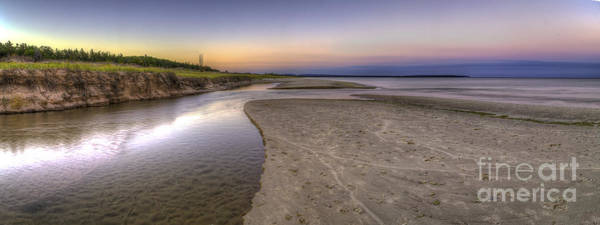 Bear Creek Photograph - Otter Creek And Lake Michigan by Twenty Two North Photography