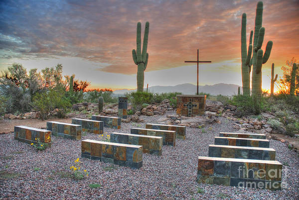 Wall Art - Photograph - Outdoor Chapel by Jim Wright