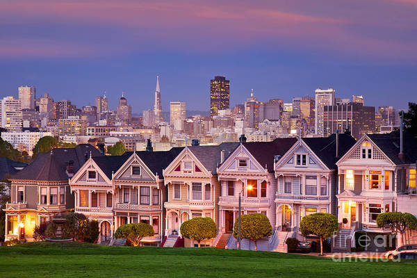 Art Print featuring the photograph Painted Ladies by Brian Jannsen