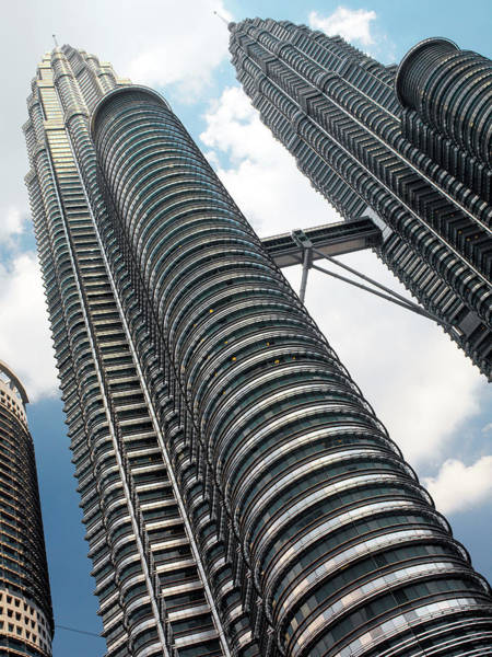 Wall Art - Photograph - Petronas Twin Towers by Steve Allen/science Photo Library
