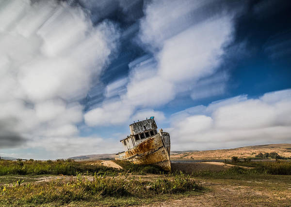 Photograph - Point Reyes Shipwreck by Lee Harland