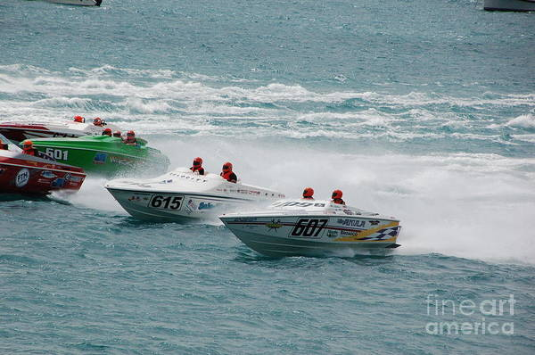 Photograph - Port Huron Sarnia International Offshore Powerboat Race by Randy J Heath