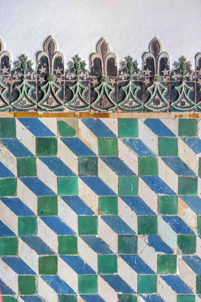 Glazed Tiles Photograph - Portugal, Sintra, Sintra National by Jim Engelbrecht