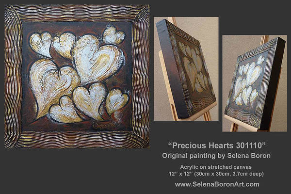Precious Hearts 301110 Art Print