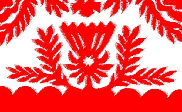 Quilt Digital Art - Protea by James Temple