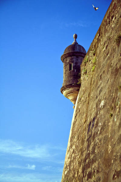 Puerto Rican Photograph - Puerto Rico, San Juan, Fort San Felipe by Miva Stock