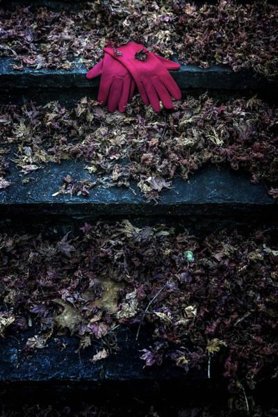 Kidnap Wall Art - Photograph - Red Gloves by Joana Kruse