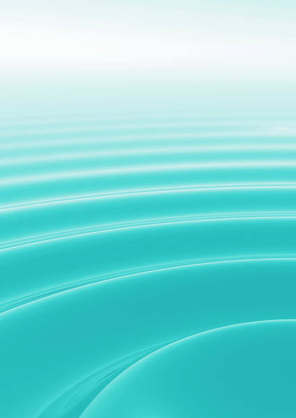 Rippling Photograph - Ripples by Gustoimages/science Photo Library