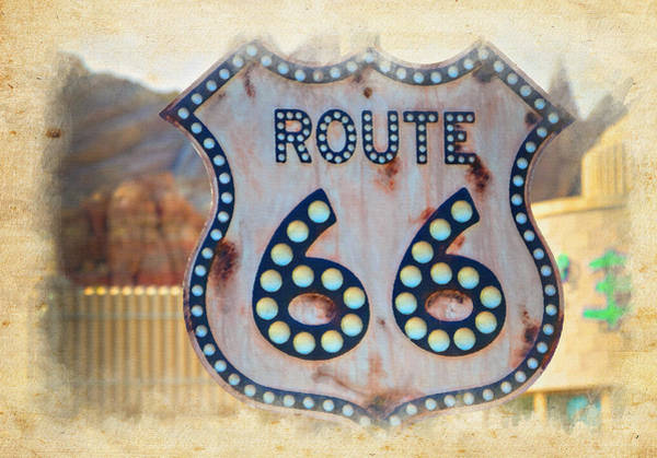 Wall Art - Photograph - Route 66 by Ricky Barnard