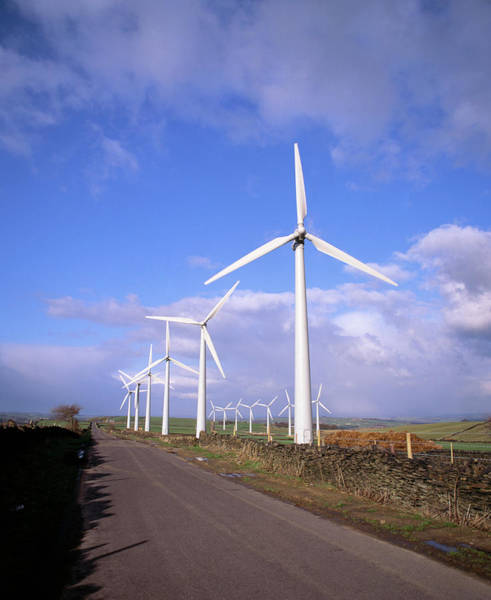 Wall Art - Photograph - Royd Moor Wind Farm by Martin Bond/science Photo Library