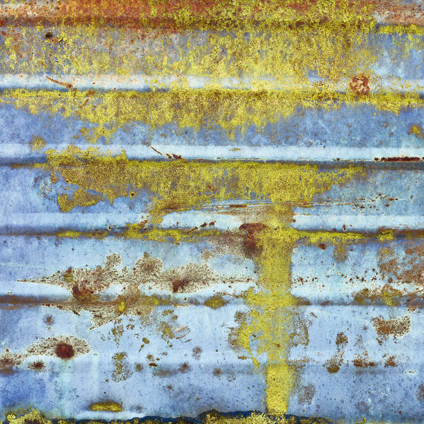 Scaffold Photograph - Rusty Metal by Tom Gowanlock